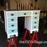 Refinished Desk