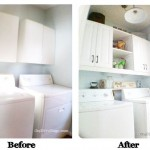 Laundry Room Reveal; {Going Vertical}