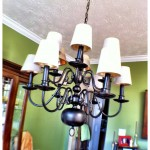 Just Hangin' Around; {Up-cycled Chandelier }