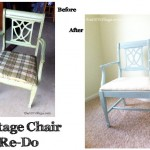 Vintage Chair Re-Do; {It's New Again!}