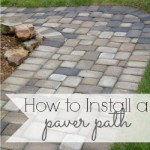 Paver Path – Hard Work, But Worth Every Sore Muscle!