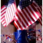 4th of July Decor {Table Centerpiece & Outdoor}