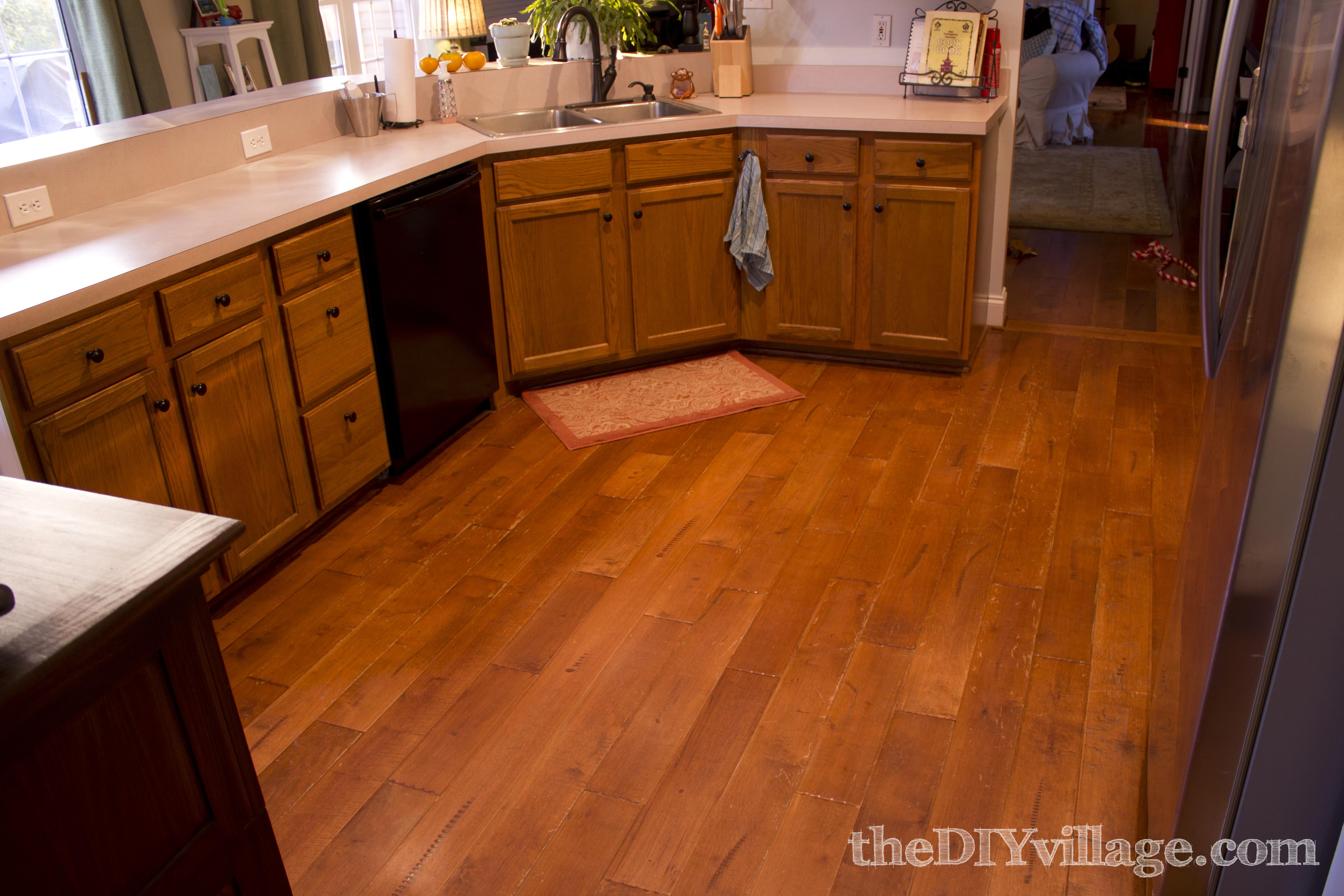 New Kitchen Rug the DIY village