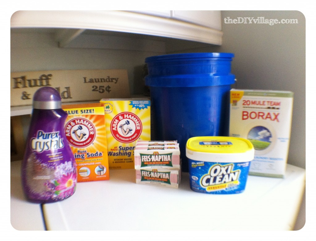 How To Make Your Own Laundry Soap The Diy Village