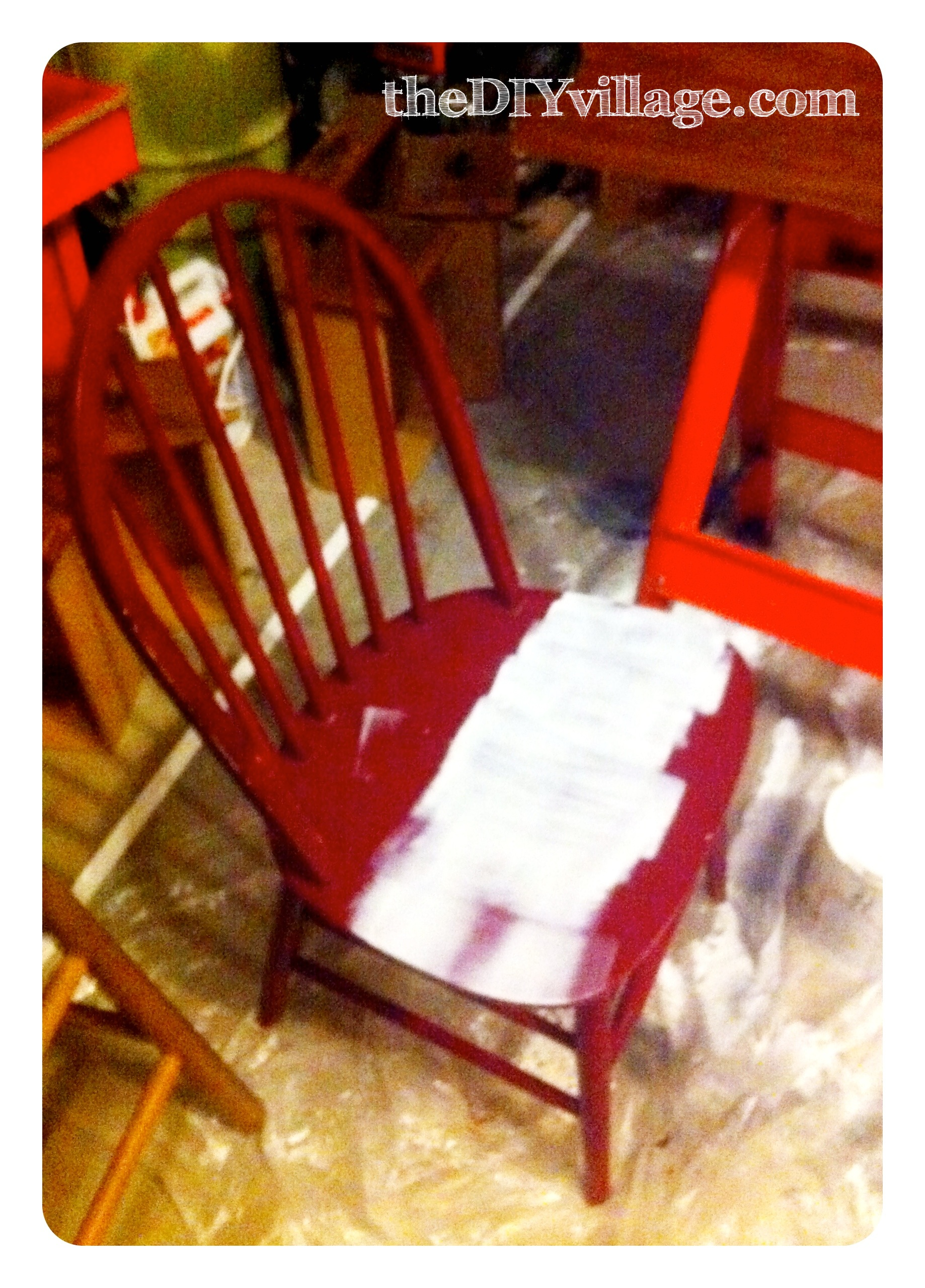 Pb Inspired Number Chair Makeover The Diy Village