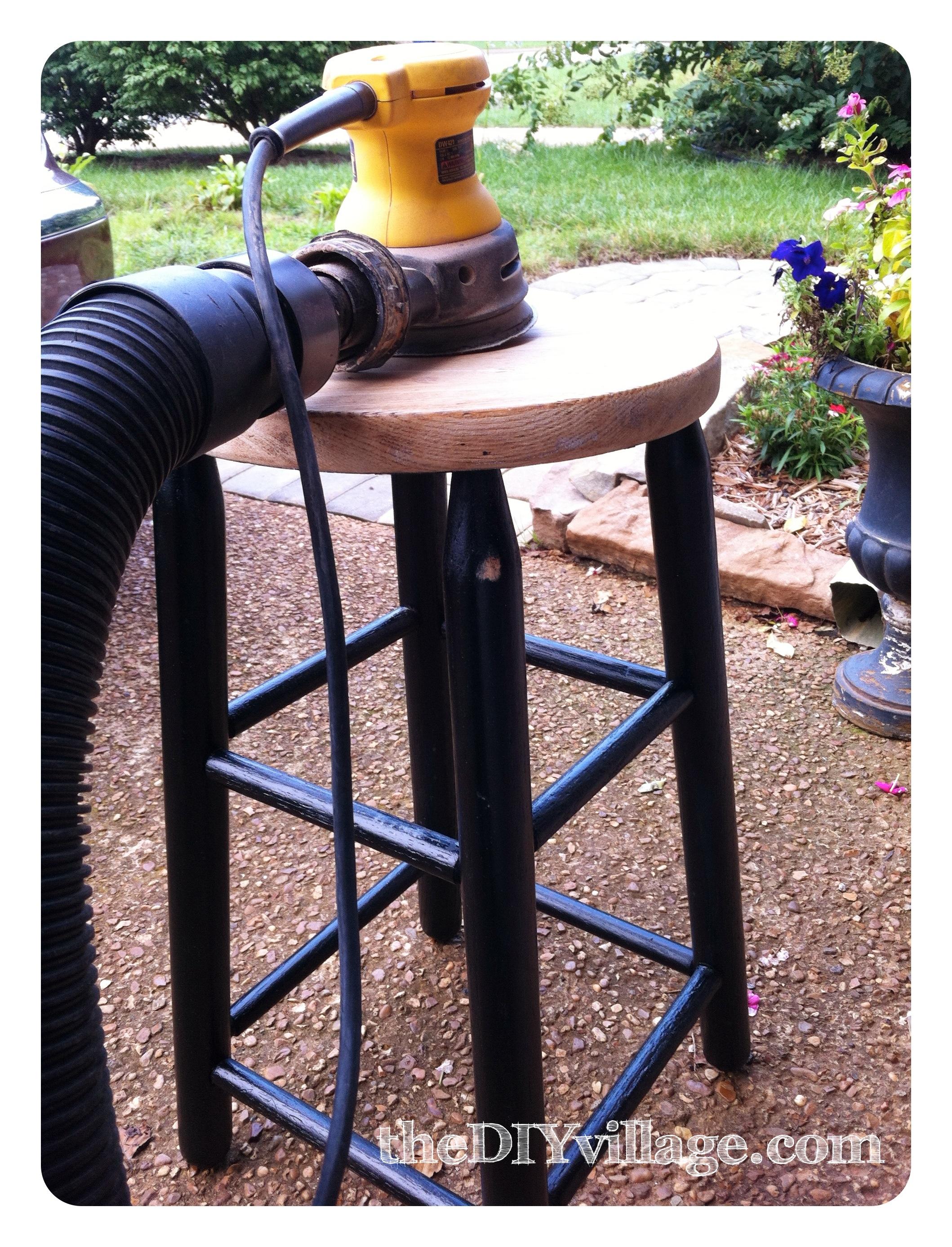 Surprising Vintage Industrial Diy Bar Stools The Diy Village Short Links Chair Design For Home Short Linksinfo