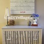 Woodland Style Dresser