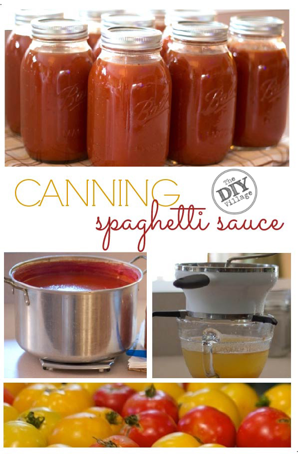DIY Canning spaghetti sauce, home preserving step by step.  #pressurecooking #tomatoes #spaghettisauce #canning #gardenfresh #garden #homepreserving