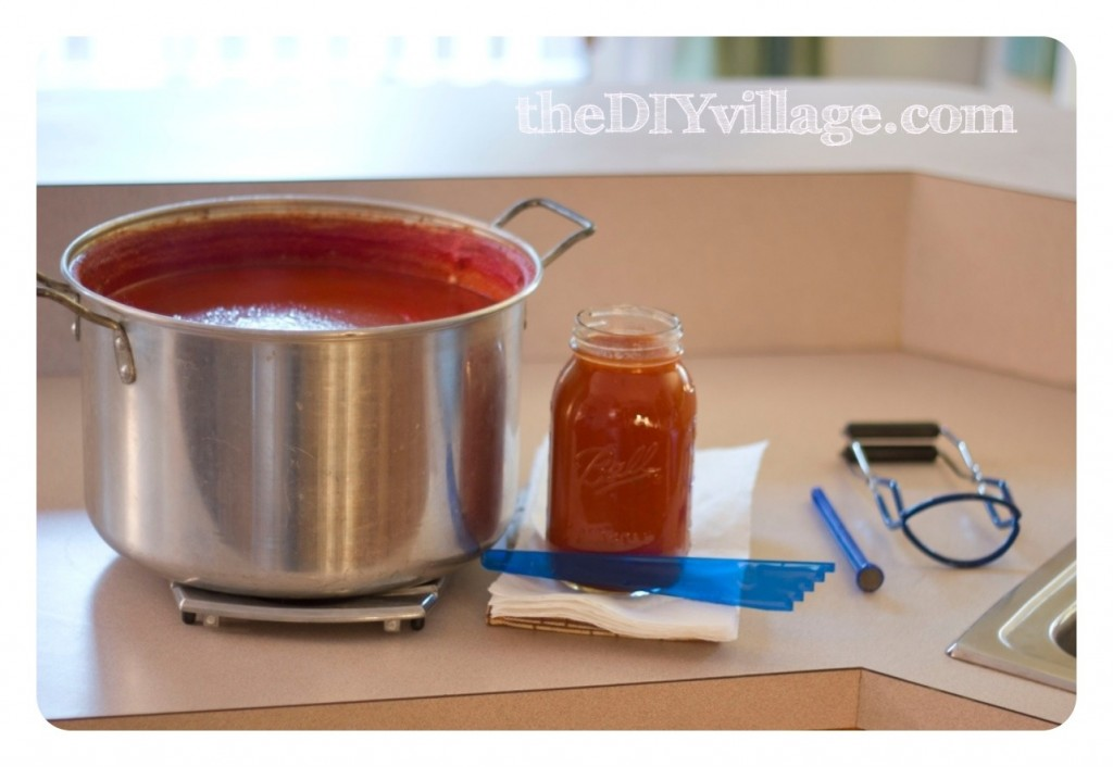 Canning Sauce