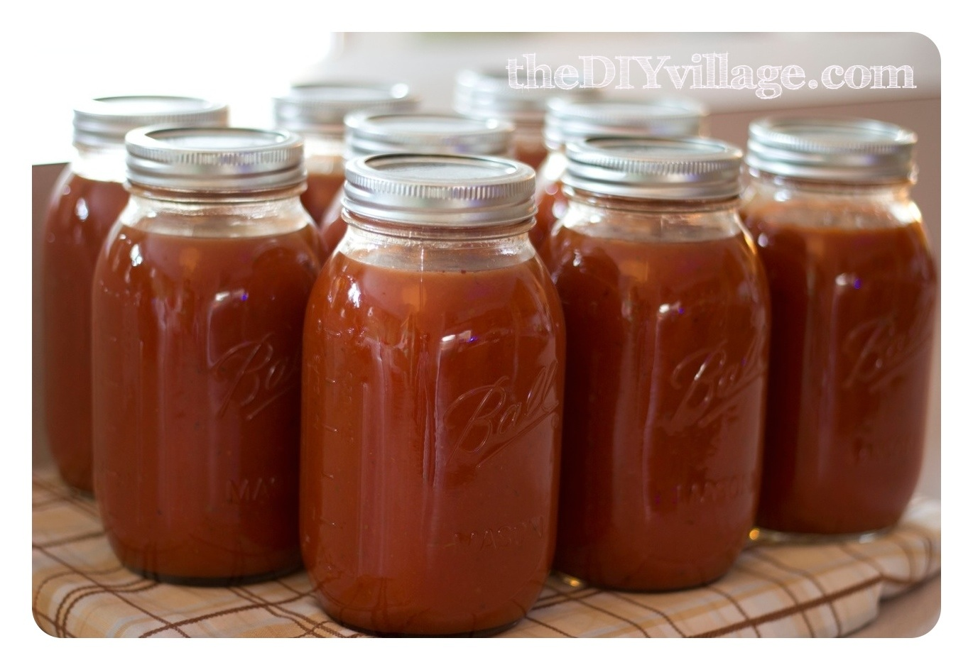 Canning Spaghetti Sauce Home Preserving The Diy Village