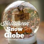 Halloween Snow Globe { How to make a snow globe }