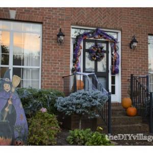 Halloween Decor by: theDIYvillage.com