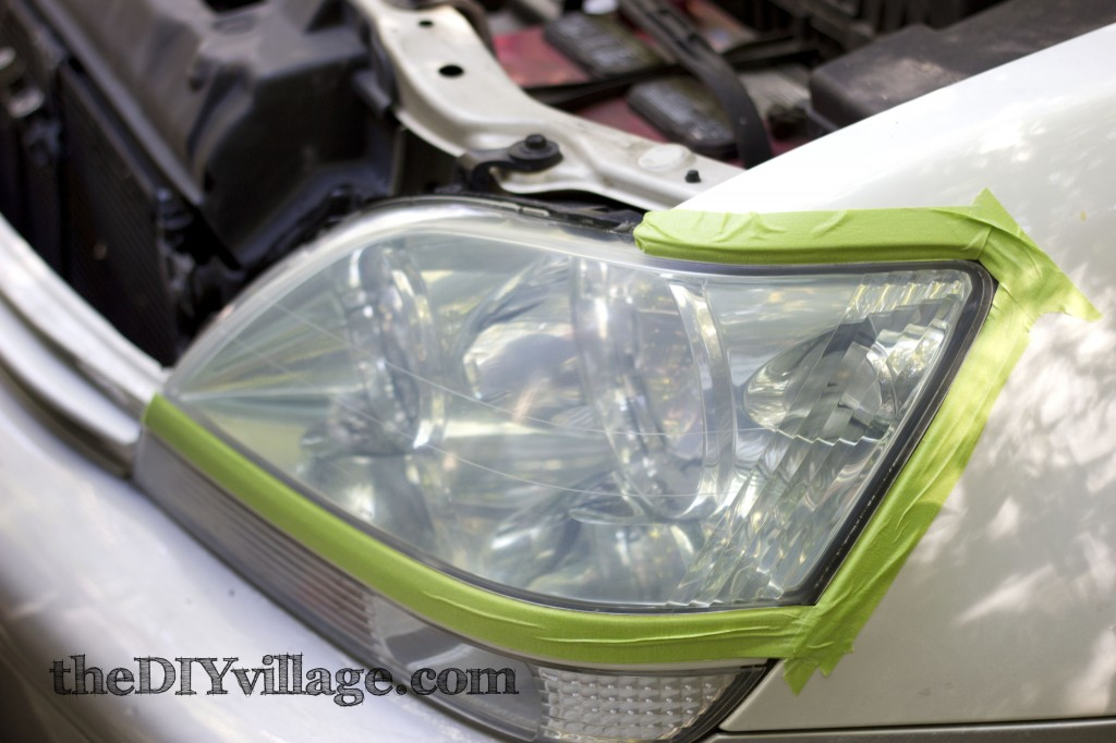 3M Headlight Restoration Kit: theDIYvillage