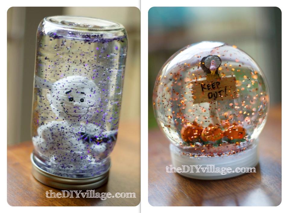 Halloween Water Globes