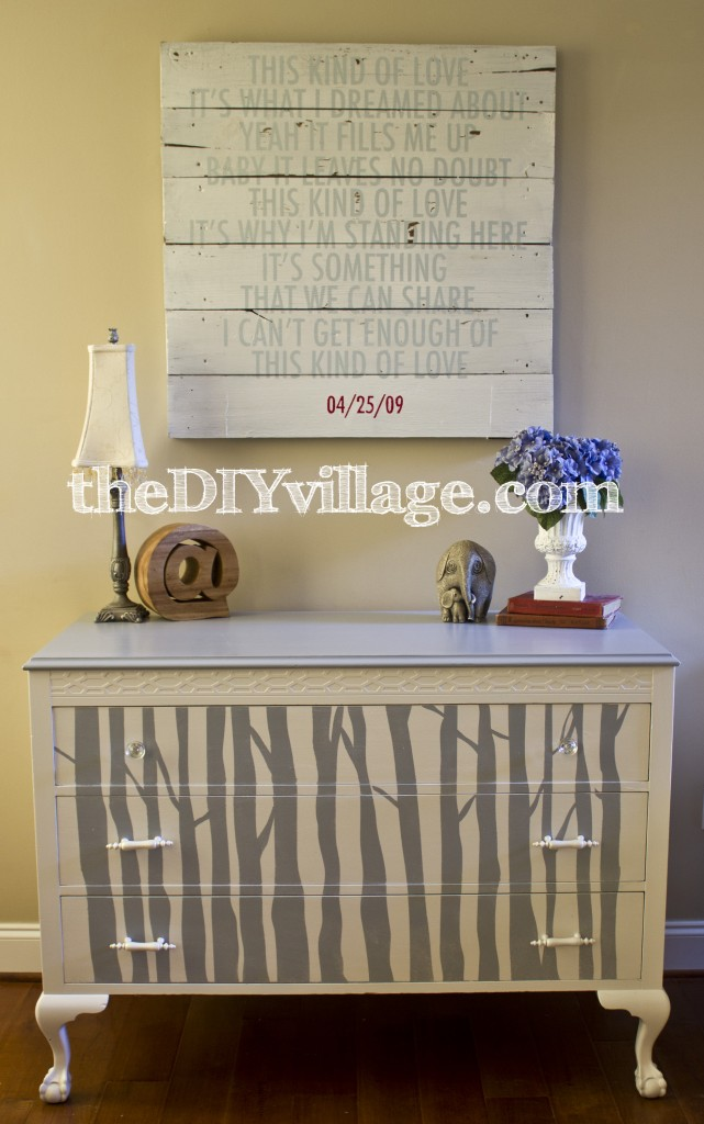 Woodland Themed Dresser : theDIYvillage.com