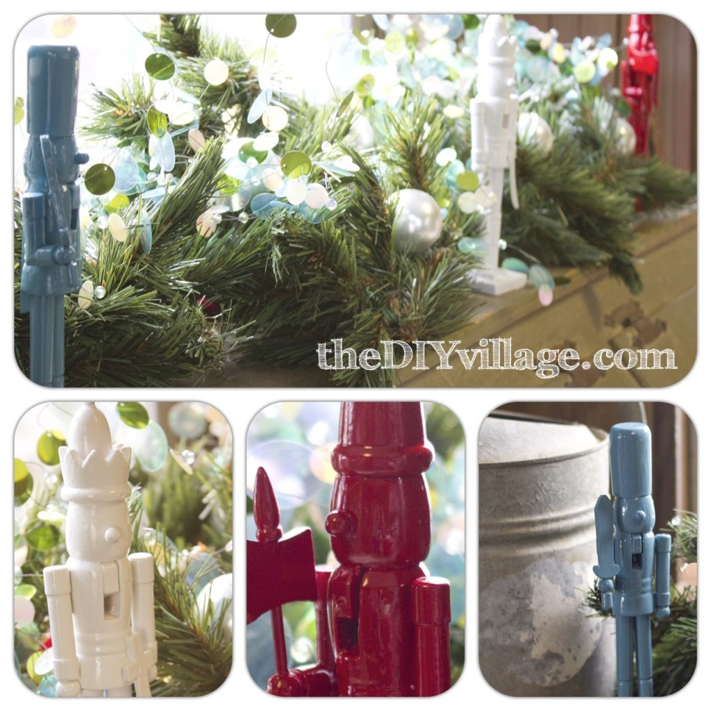 Thrifty Christmas Decor by: theDIYvillage.com