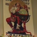 Christmas Mantel with Santa