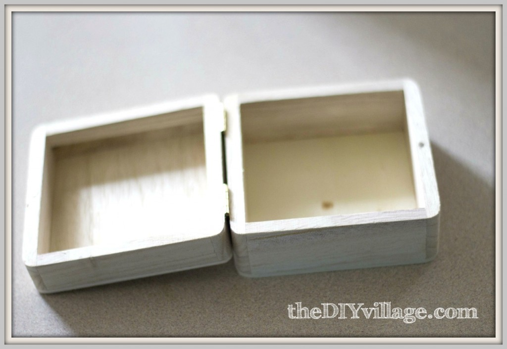 Monogrammed Jewelry Box Last Minute Gift Idea the DIY village