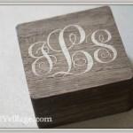 Monogrammed Jewelry Box