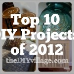 Top 10 Do It Yourself Projects of 2012
