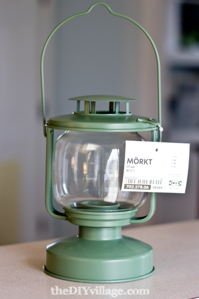 Morkt IKEA LED Lantern by theDIYvillage.com