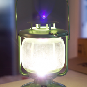 Morkt IKEA LED Lantern by theDIYvillage.com