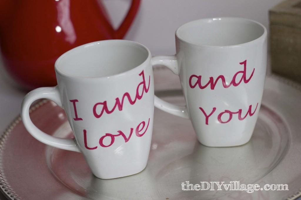 Custom Coffee Mug Dollar Tree Valentine Gift The Diy Village