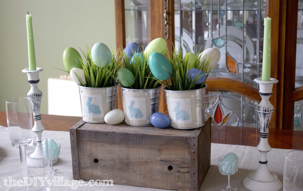 Easter Centerpiece by: theDIYvillage.com