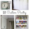 DIY Custom Pantry Makeover by theDIYvillage.com