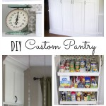 Custom Kitchen Pantry Reveal