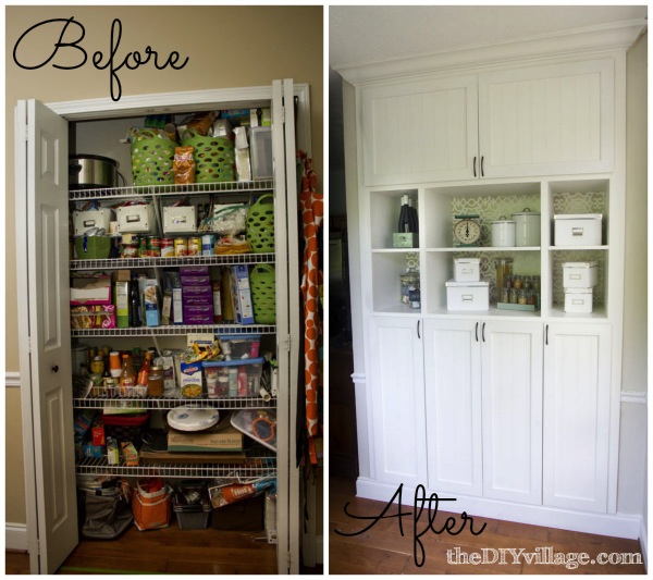 Superieur DIY Custom Pantry Makeover By TheDIYvillage.com