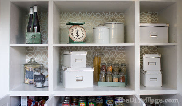 Custom Kitchen Pantry Cabinet With Custom Kitchen Pantry Reveal The DIY  Village With Pantry Cabinet Organizers