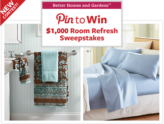 Bathroom refresh with better homes and gardens Better home and gardens sweepstakes