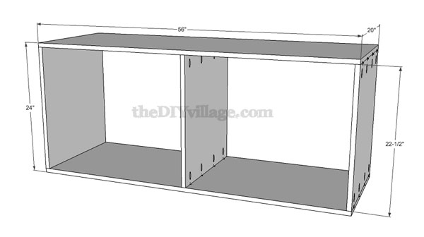 build a pantry part 1 pantry cabinet plans included the diy village. Black Bedroom Furniture Sets. Home Design Ideas