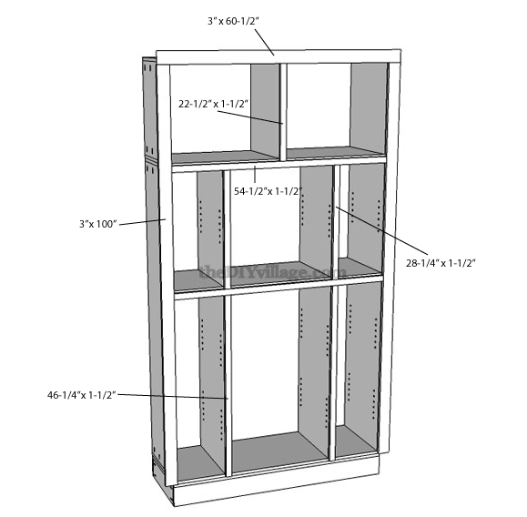 Medium image of how to build a pantry cabinet with facing