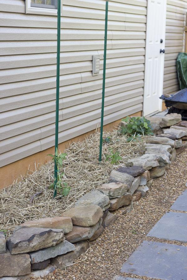 Raised Stack Stone Garden