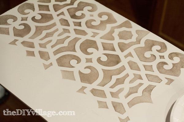 Royal Design Studio Stencil for a Pantry