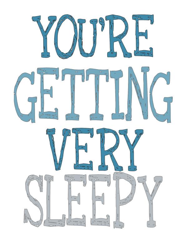 Fabulous Getting Sleepy Free Printable at theDIYvillge