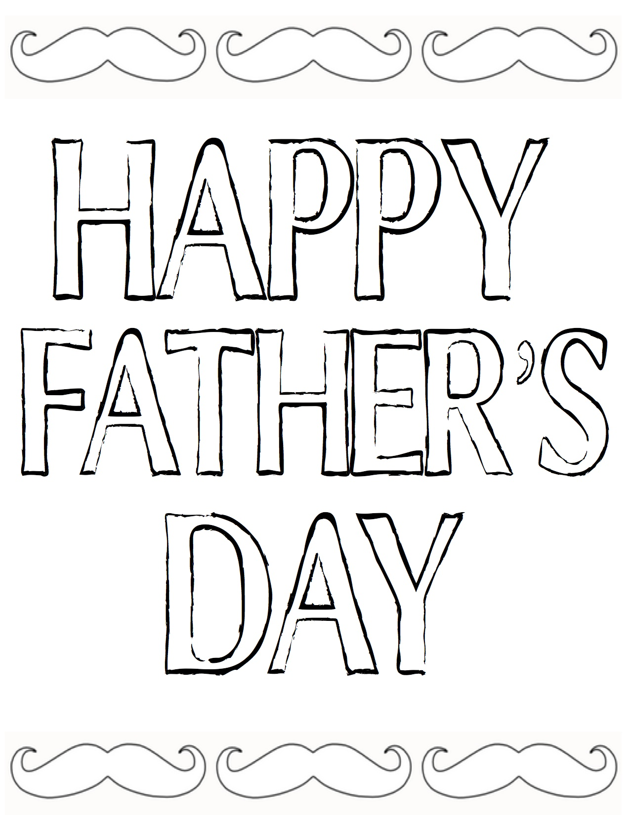 Happy Father S Day Worksheet : Free fathers day printables the diy village