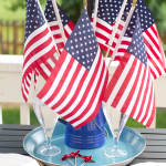 Patriotic Summer Tablescape