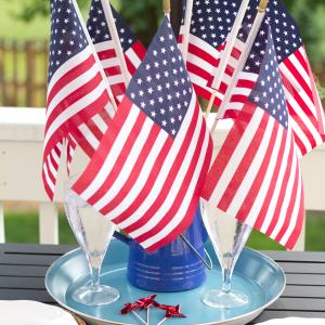 Patriotic Summer Tablescape