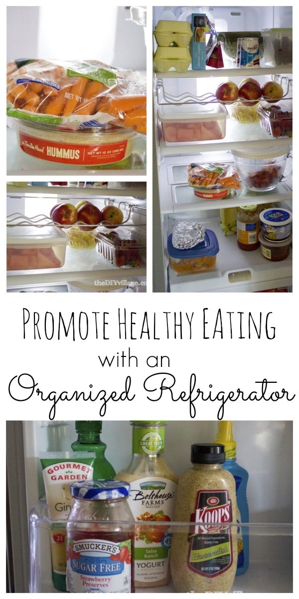 Promote Healthy Eating-Organized Refrigerator ... Organized Refrigerator Healthy