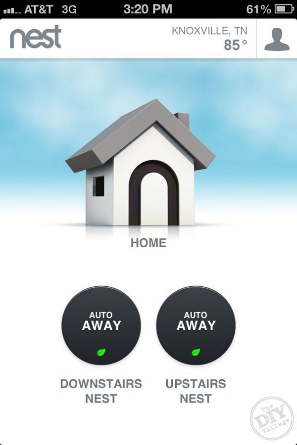 Smart Thermostat Auto Away