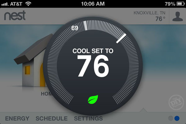 Nest Thermostat Temperature