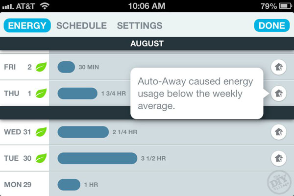 Smart Thermostat Energy Report
