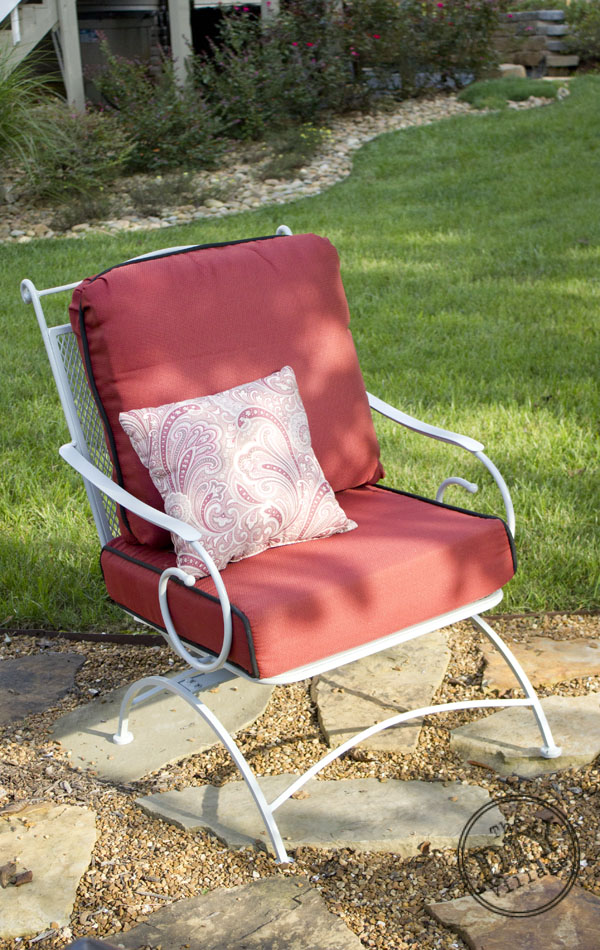 Simple How to Re finish Rusted Patio Furniture