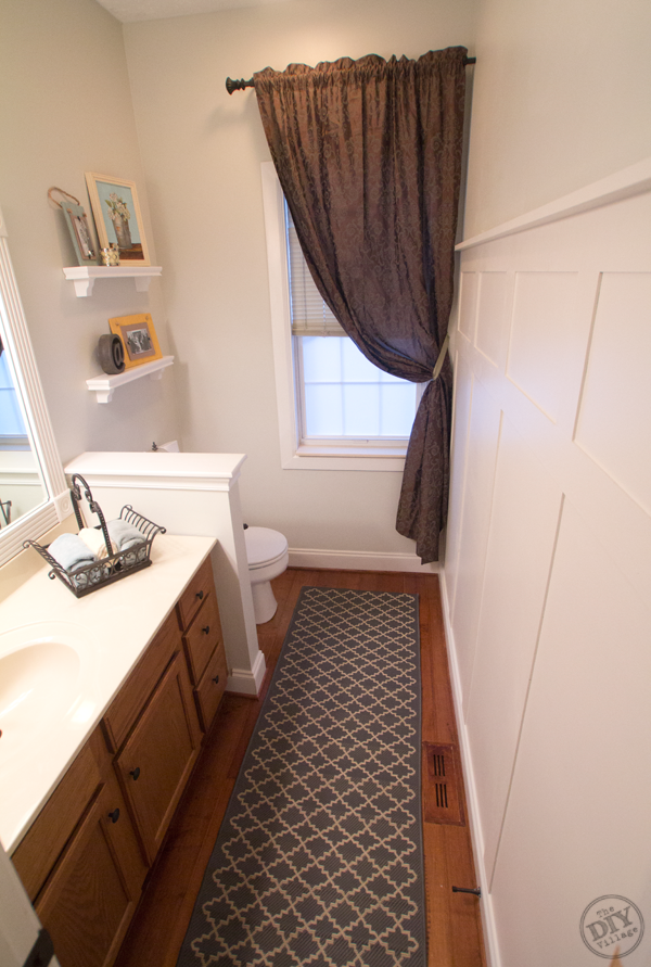 diy small bathroom makeovers a bathroom makeover on a budget the diy 18161