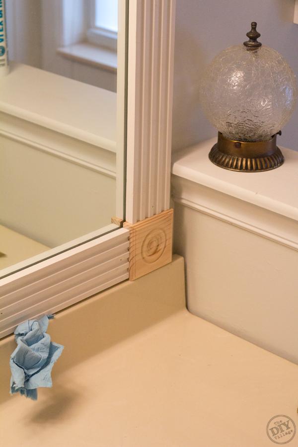 Fluted Mirror Molding Install