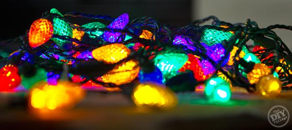 Christmas Light Preparation