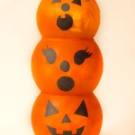 Easy Dollar Tree Pumpkin Luminary Family